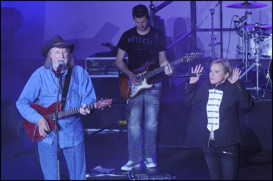 François Corbier au concert de Dorothée en 2010