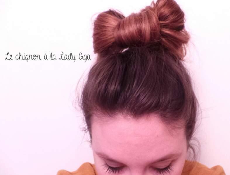 Un chignon noeud comme Lady Gaga