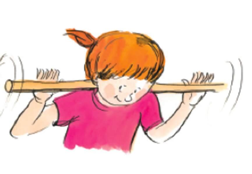 Le bâton magique (automassage ou massage à deux)