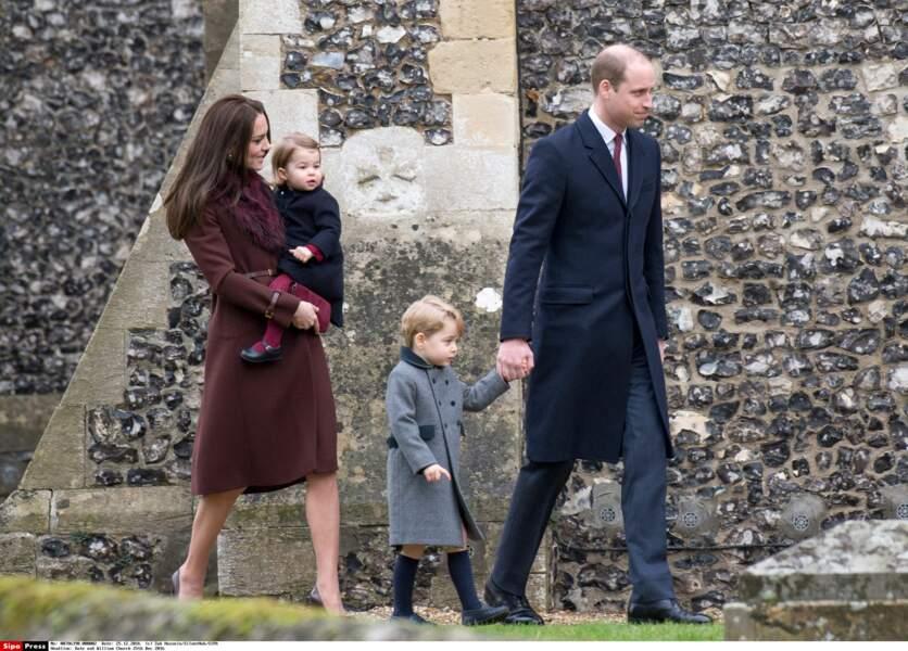 Kate, Charlotte, George et William