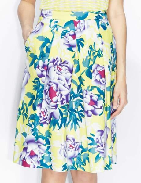 La jupe fleurie