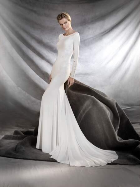Robe de mariée Pronovias : Orquidea