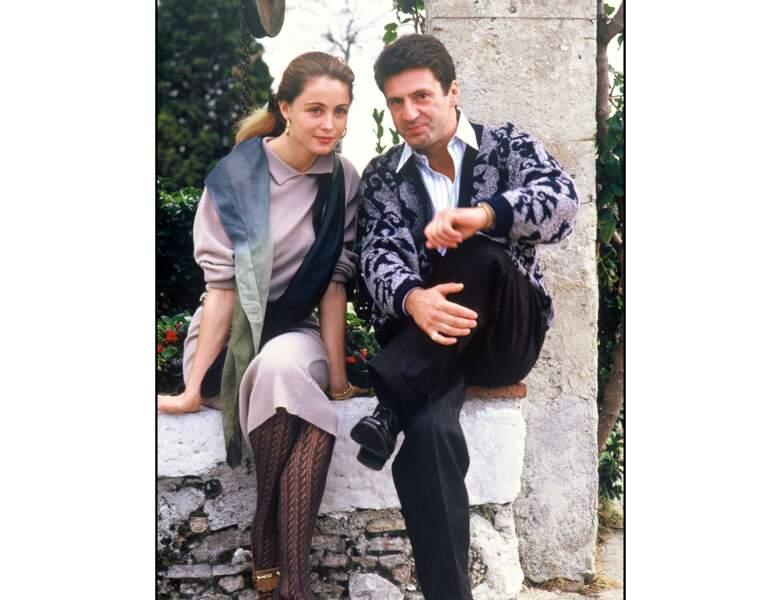 Emmanuelle Béart et Daniel Auteuil sont restés ensemble pendant 10 ans