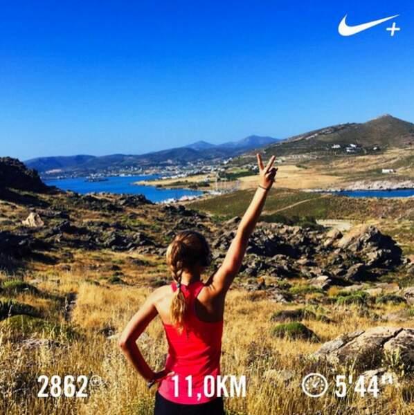 Courir lorsque je voyage est vraiment une pratique que j'aime énormément