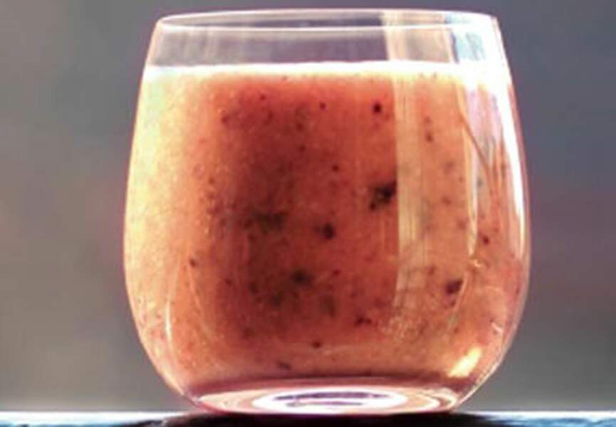 Smoothie Figue rose