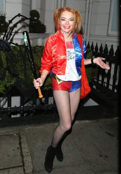 Le déguisement de Lindsay Lohan pour Halloween
