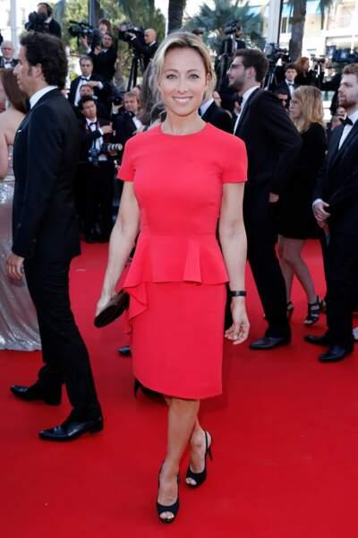 Anne-Sophie Lapix au 66ème festival de Cannes en mai 2013.
