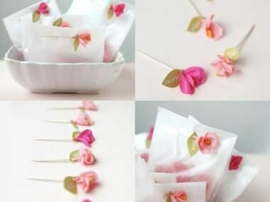 Des idées de décorations de mariage en papier crépon repérées sur Pinterest