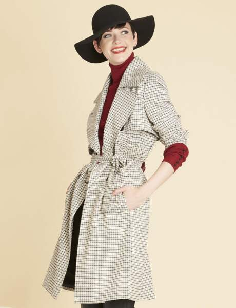Trench tendance : graphique