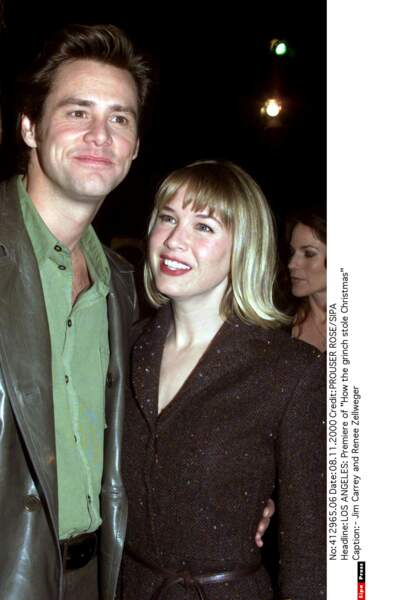 Jim Carrey, Renee Zellweger, 1999-2001