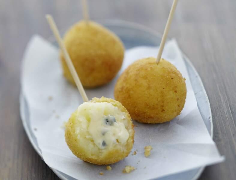 Croquettes au fromage bleu