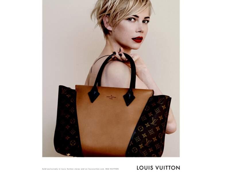 Michelle Williams en 2013, égérie Louis Vuitton