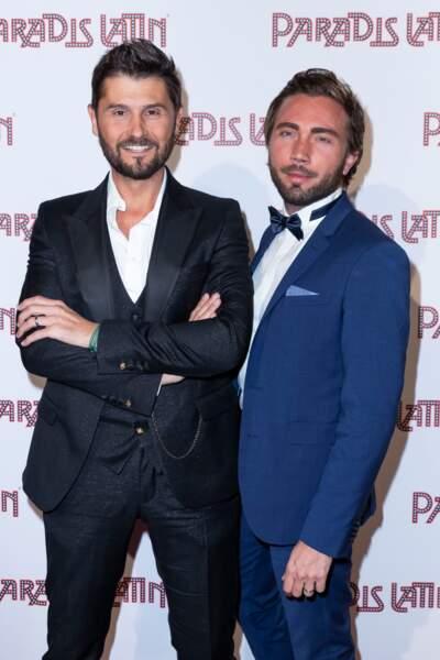 Christophe Beaugrand et Ghislain Gerin à Paris, le 6 juin 2019