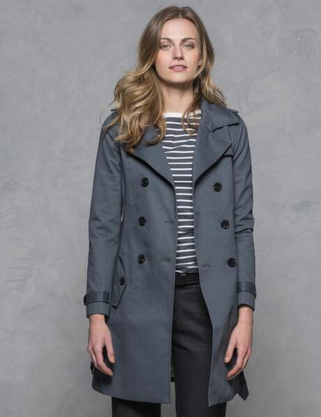 Le trench gris