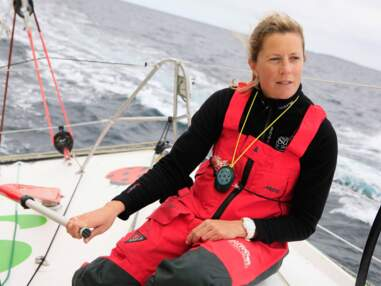 Samantha Davies, seule femme au départ du Vendée Globe