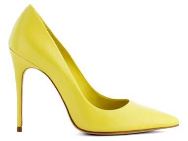 Tendance jaune citron : les nouveautés mode
