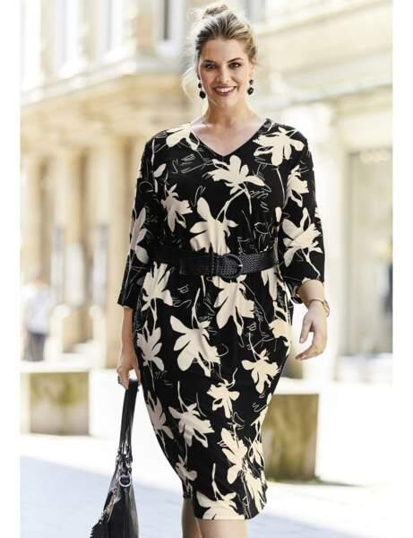 Mode grande taille : la robe à fleurs