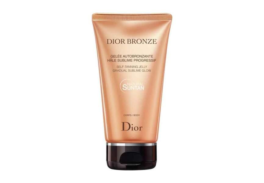 La Gelée Autobronzante Hâle Sublime Progressif Corps Dior Bronze Dior