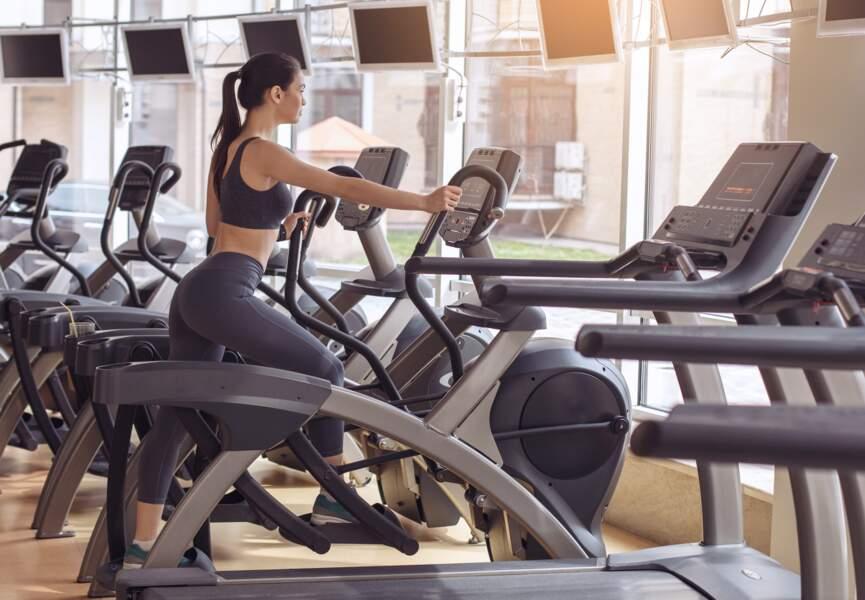 Le vélo elliptique : pour tonifier l'ensemble du corps