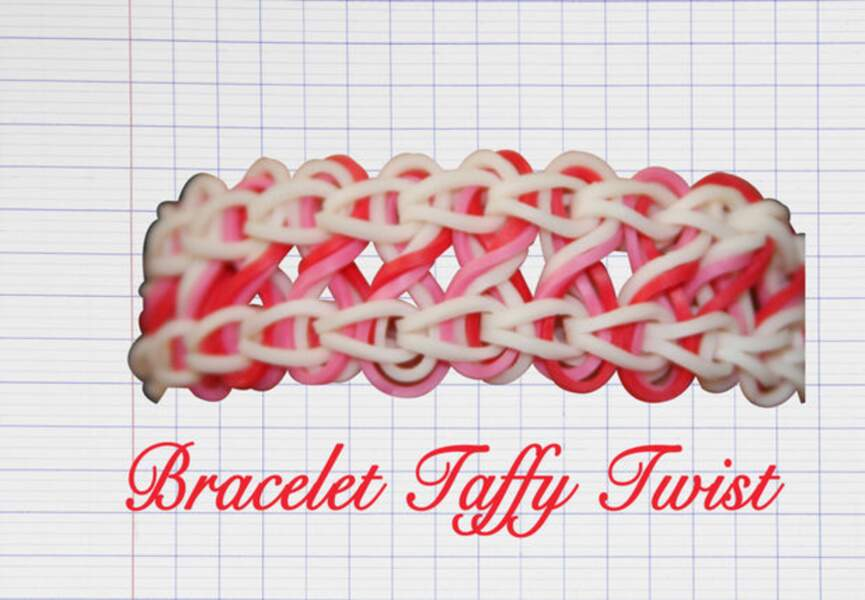 Le bracelet Taffy Twist