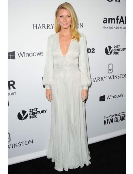 La robe à cristaux de Gwyneth Paltrow