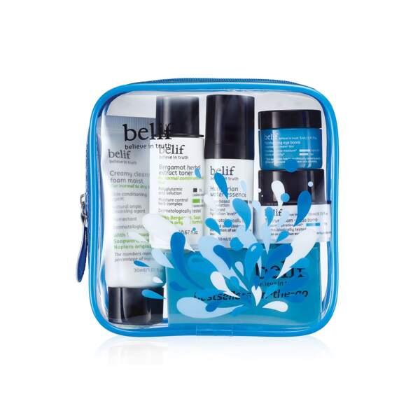 On-the-go Travel Kit, Belif, prix indicatif : 20 €