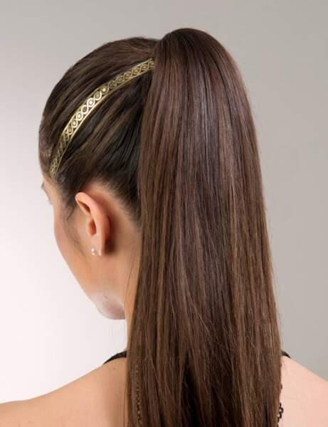 Un tatouage éphémère pour cheveux