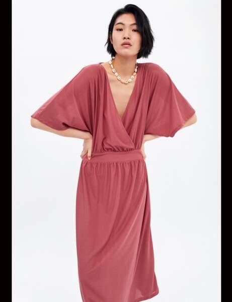 Zara: la robe rose