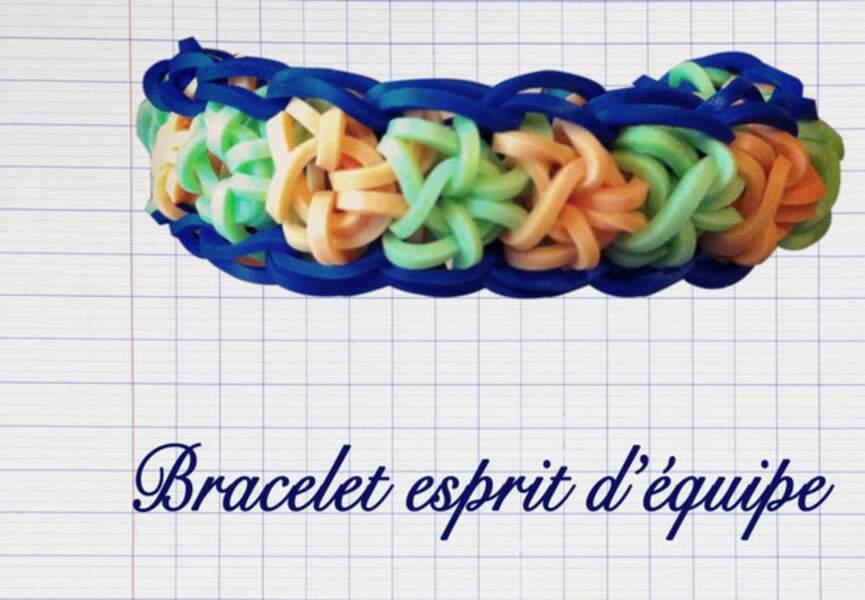 Le bracelet Esprit d'Equipe