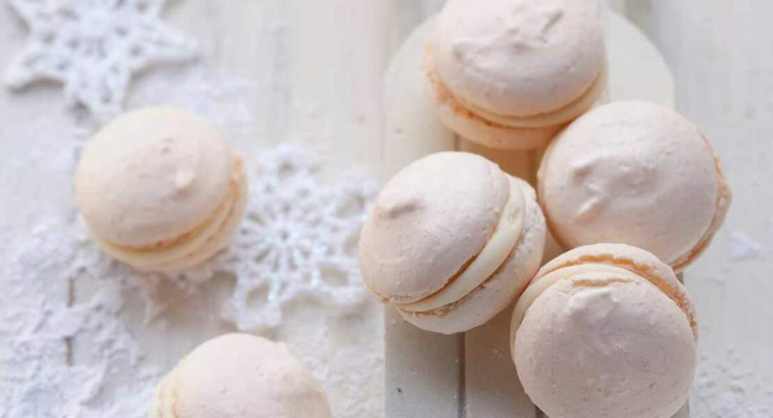Macarons de Noël au mascarpone