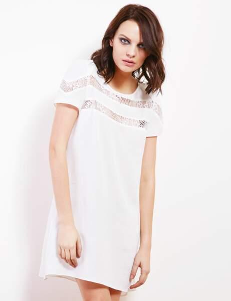 Robe blanche : intemporelle