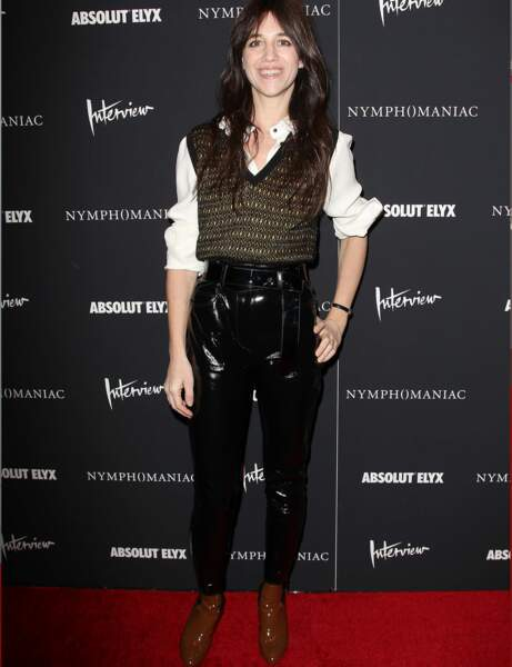 Charlotte Gainsbourg : le look trendy