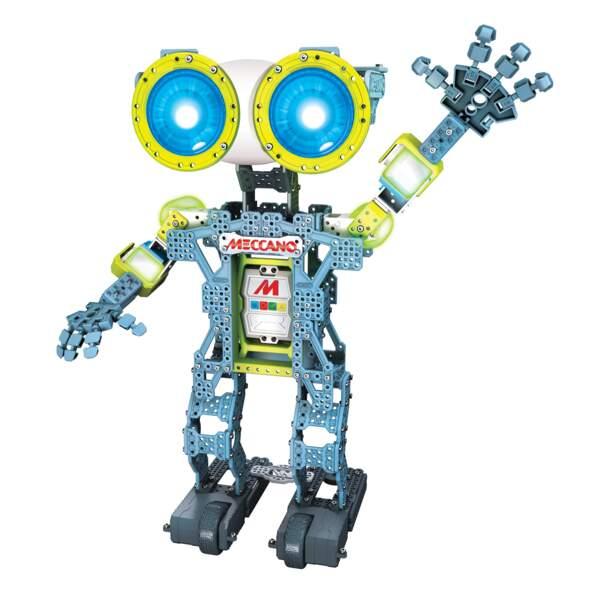 Un robot Meccano qui obéit au doigt et à l'oeil