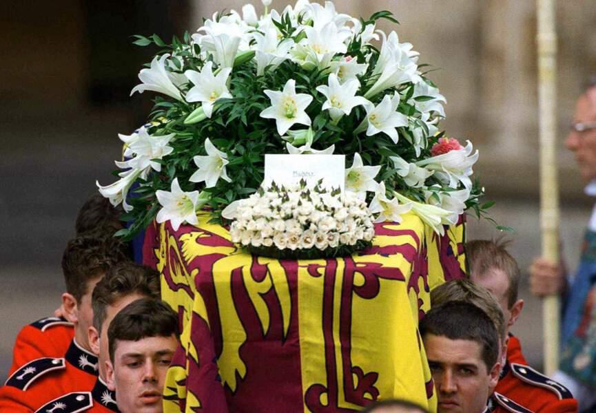 Lady Di : ses funérailles le 6 septembre 1997.