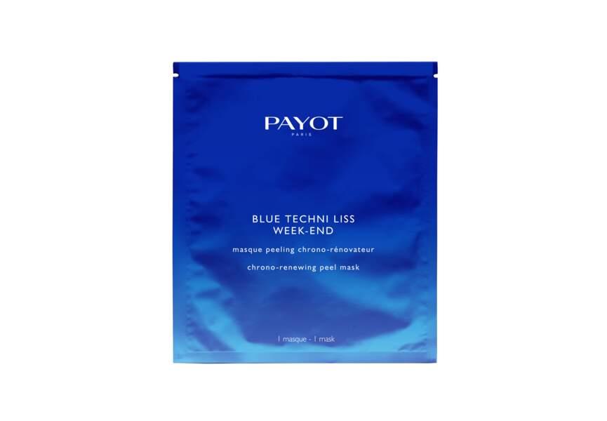 Le Masque peeling chrono-renovateur Blue techni liss week-end Payot