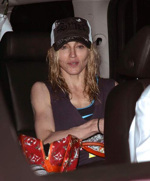 Madonna quasi méconnaissable...