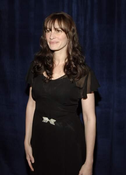 Julia Roberts au cours d'une soirée à New York en avril 2006