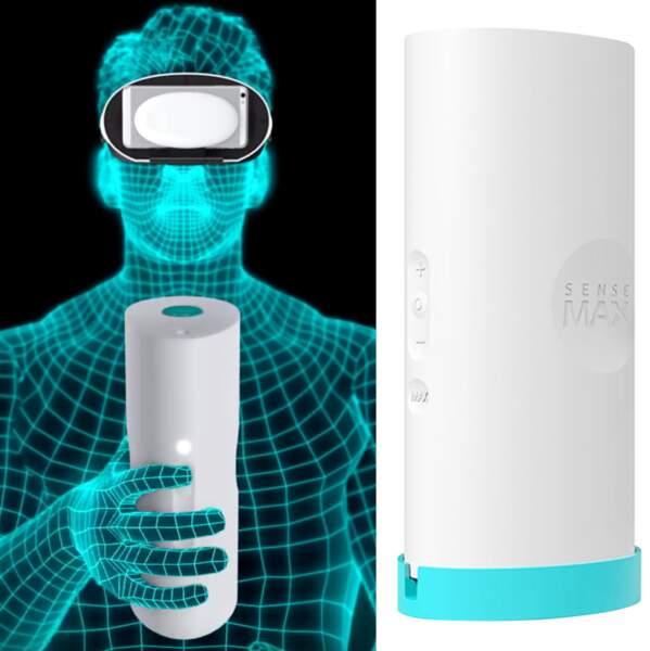 Gaine de masturbation SenseTube connectée en réalité virtuelle