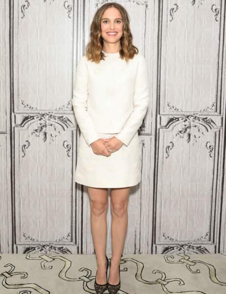 Natalie Portman : ensemble blanc