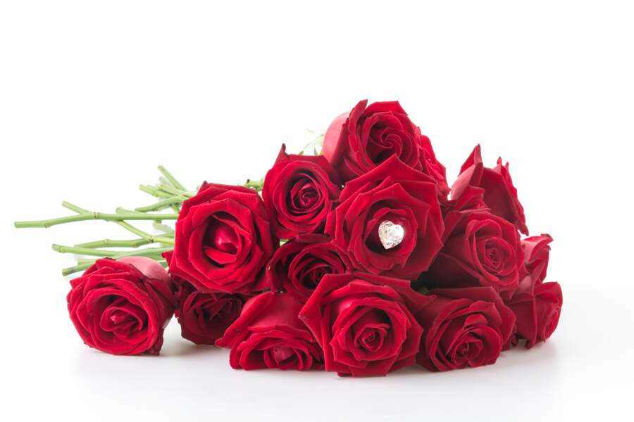 Bouquet de roses et bijou - Florajet