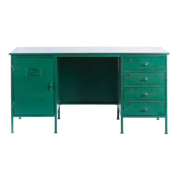 Un bureau vert