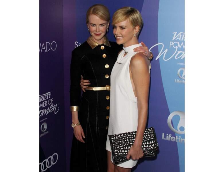 Toujours en 2013, à 38 ans, elle est photographiée avec Nicole Kidman