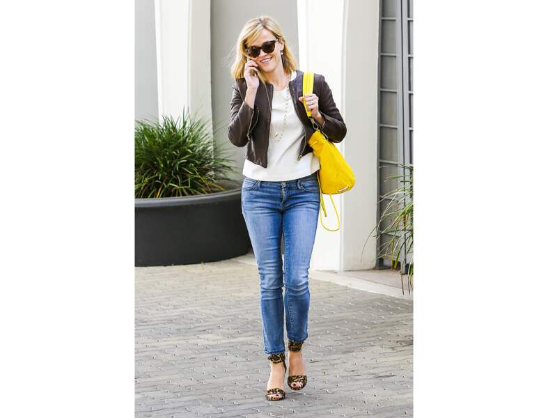 Le jaune citron comme Reese Witherspoon