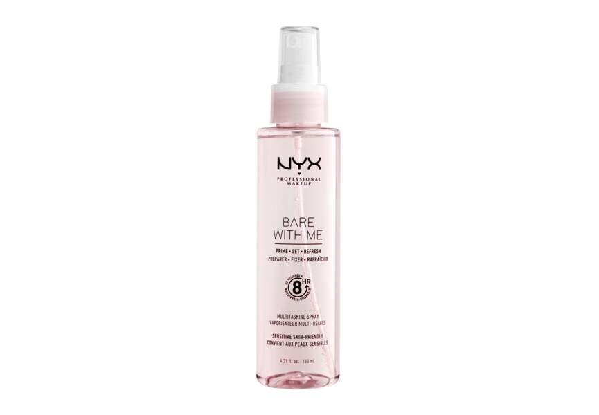 Le spray bare with me prepare Nyx