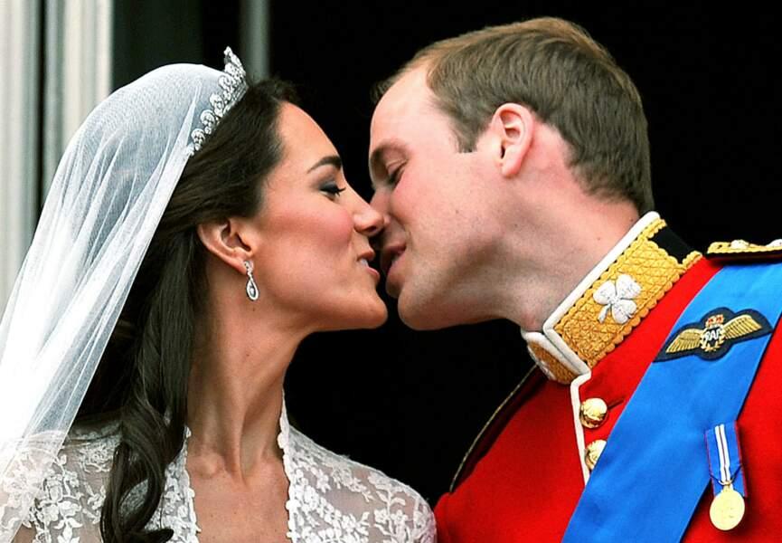 Et le Prince William, le jour de leur mariage