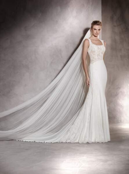 Robe de mariée Pronovias : Angela