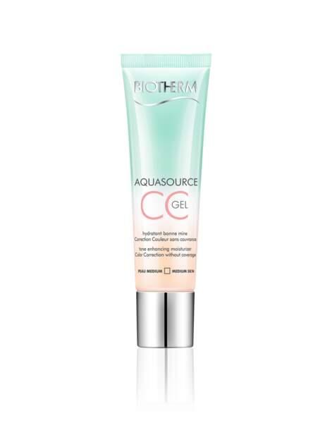 Une CC pour désaltérer la peau