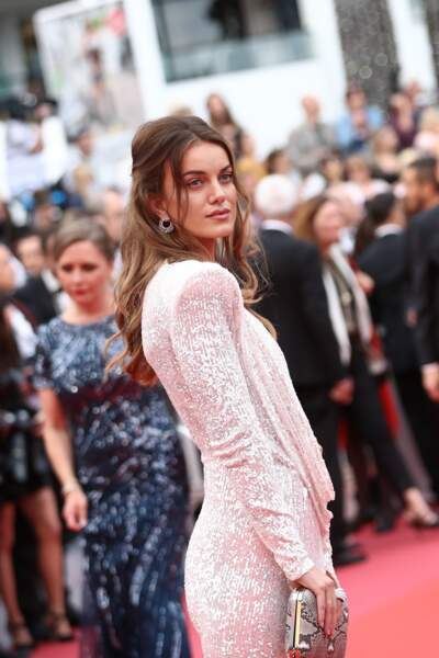 Cannes 2019 : accident de robe pour le mannequin Heidi Lushtaku