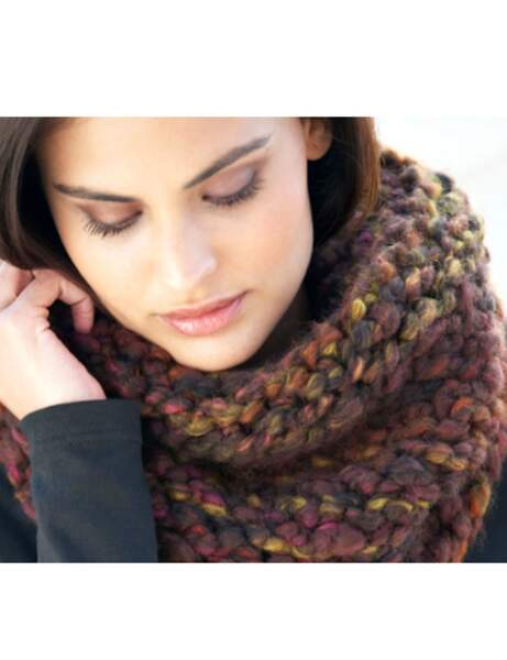 Tricot : le snood express