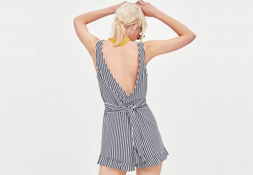 Nouveautés Zara: le combishort